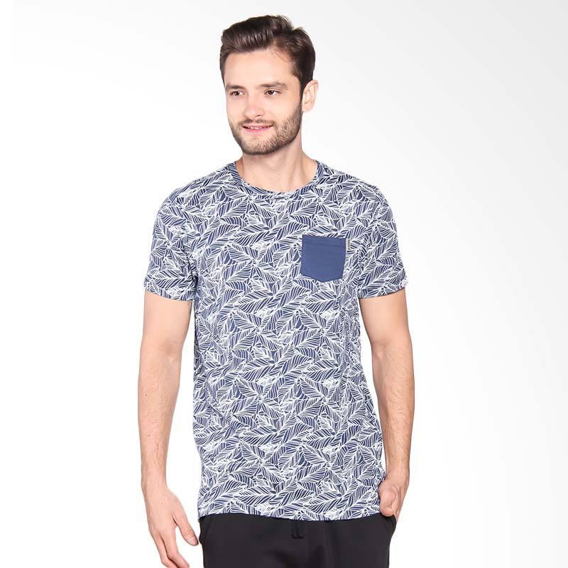 Greenlight Tshirt Atasan Pria - Blue 222061712