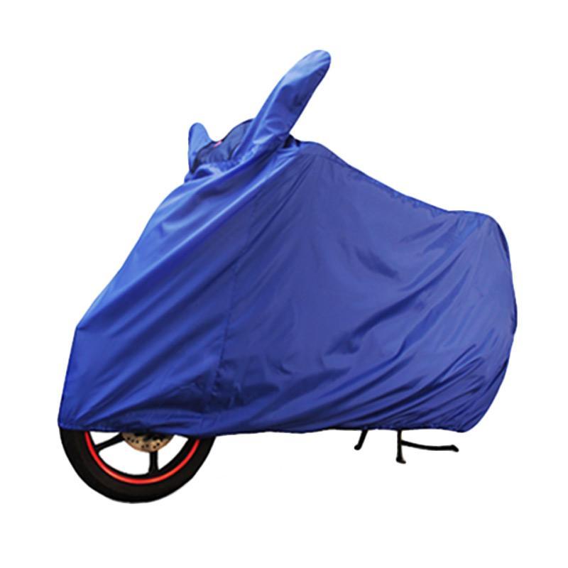 Cover Super Cover Motor - Biru [Size XL]