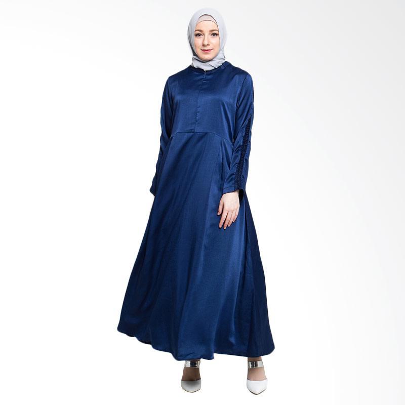 Allev Arina Dress Muslim - Biru