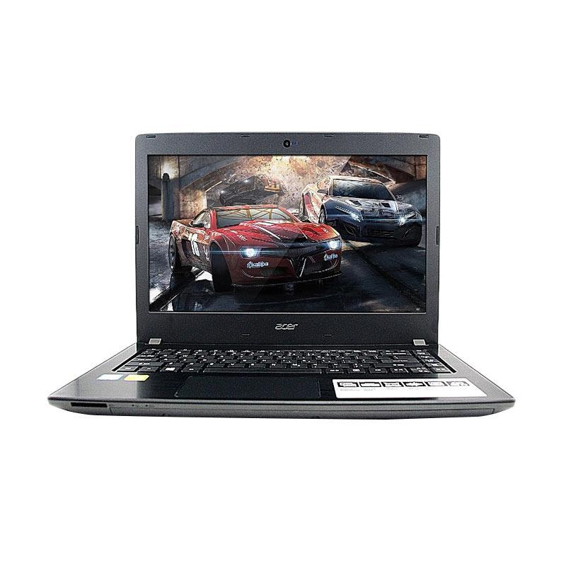 Acer E5-475G-541U KabyLake Laptop Gaming - Grey[Core i5-7200U /4GB/1TB/NVIDIA GeForce 940MX 2 GB GDDR5 / DOS] + ASURANSI