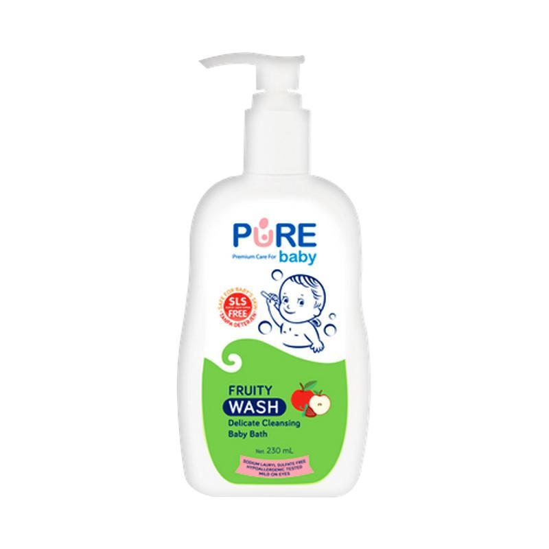 Pure Baby Wash Fruity Sabun Bayi [230 mL]
