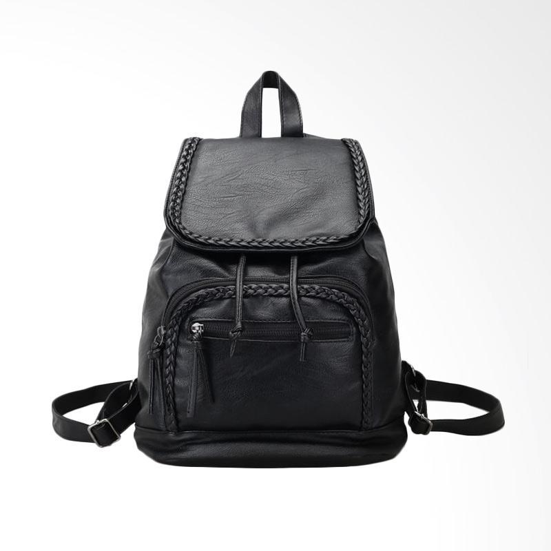 Fashion 888 53375 Backpack Tas Wanita - Black