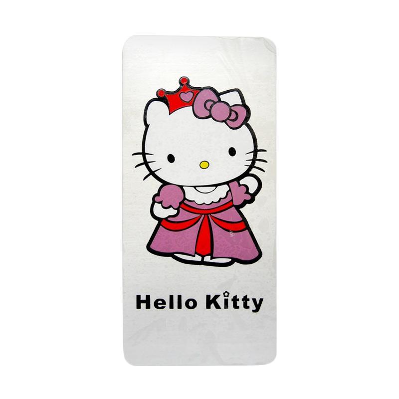 SIV EMB-KT603 Motif Hello Kitty Universal Emblem Plat Nomor Mobil