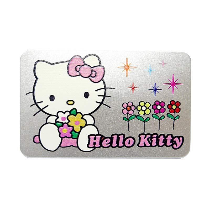 SIV EMB-KT1901 Hello Kitty Plat Nomor Emblem Mobil