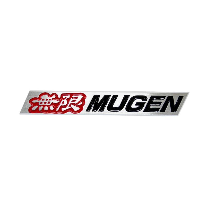SIV EMB-MG13RD Mugen Emblem Universal - Black Red