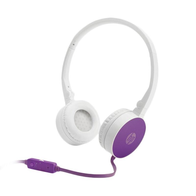 HP H2800 Headset - Purple