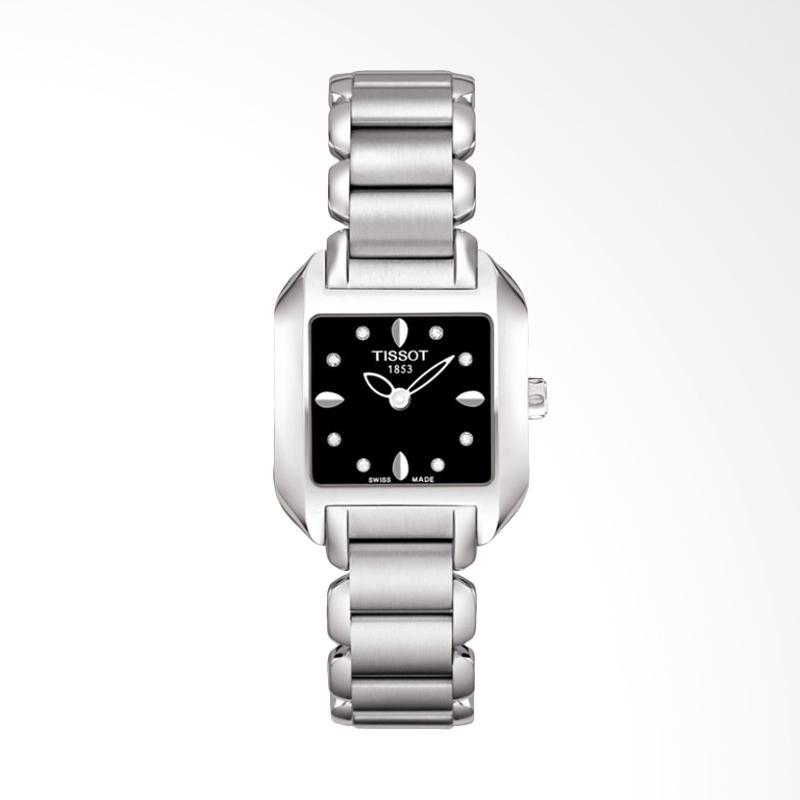 harga Pre Order - TISSOT T02.1.285.54 T-Wave Roman Diamonds Dial Stainless Steel Jam Tangan Wanita Blibli.com