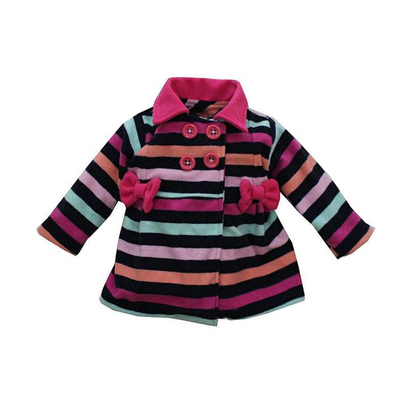 Bibbo Baby Blazer Stripe Shade of Pink Jaket Bayi Perempuan