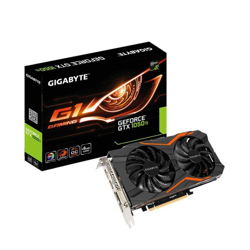 Gigabyte Geforce GTX 1050 Ti G1 Gaming Graphic Card [4GB GDDR5/ 128-bit]