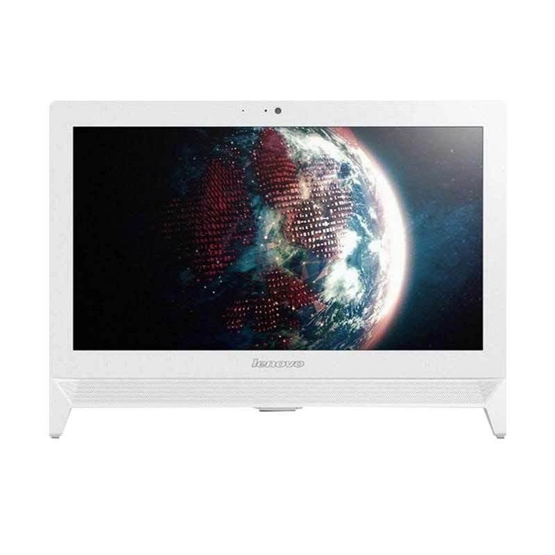 Lenovo AIO 300-20ISH-F0BV004DID Desktop PC - White [i3-6100T/4GB/1TB/20 Inch/Dos]