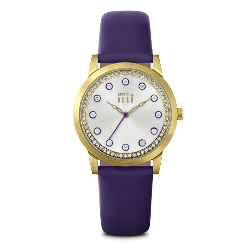 Elle Spirit ES20100S04X Watches Jam Tangan Wanita - Purple