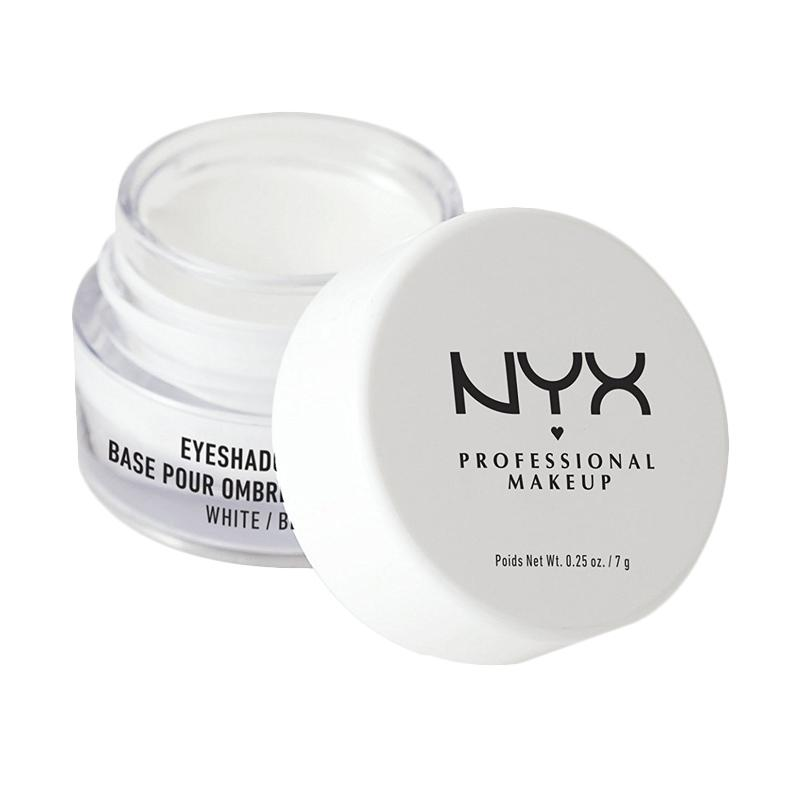 NYX Cosmetics Eye Shadow Base 0.21 Ounce - White