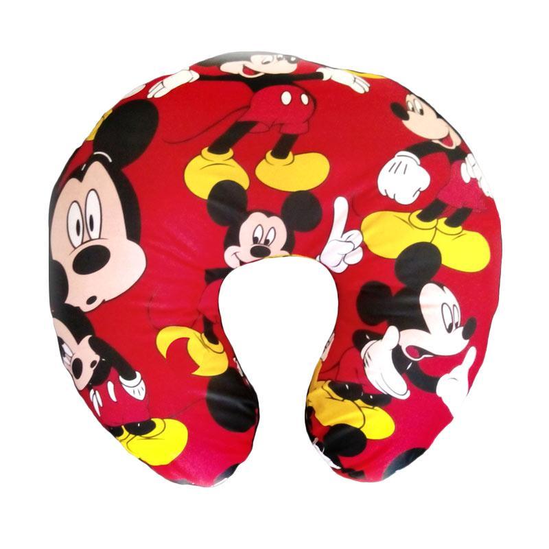 Baby Al Mickey Bantal Menyusui - Merah