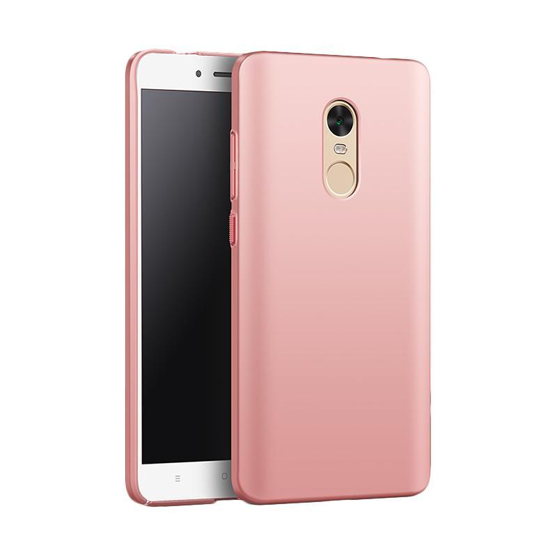 Jual WEIKA Baby Skin Ultra Thin Hardcase Casing for Xiaomi Redmi Note 4x - Rose Gold + FREE TEMPERED GLASS BENING Online - Harga & Kualitas Terjamin ...