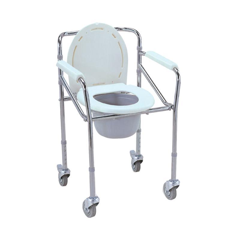 GEA FS696 Commode Chair Dengan Roda Kursi Toilet BAB
