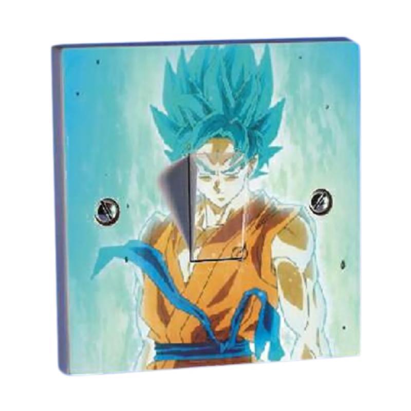 OEM Dragon Ball Goku Saklar Lampu Sticker