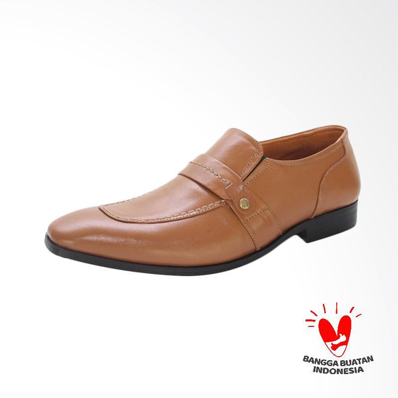 GRUTTY Sepatu Formal Pria - Tan GR 81019