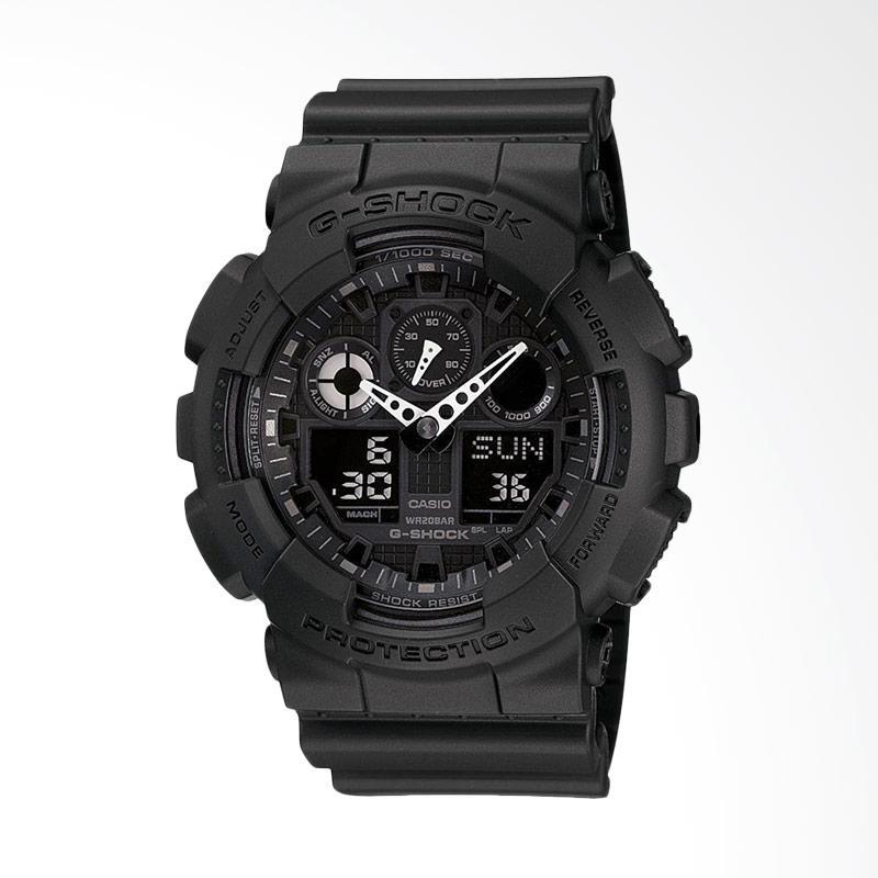 CASIO G-Shock Jam Tangan Pria GA-100-1A1DR