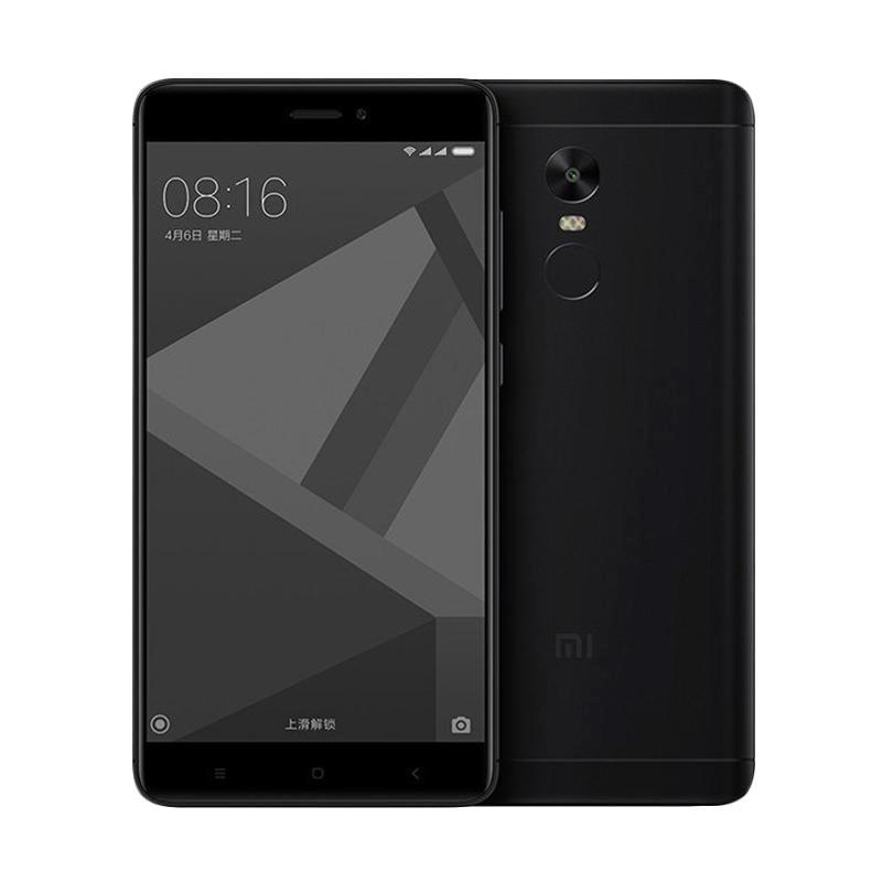 Update Harga Xiaomi Redmi Note 4X Smartphone – Black [16GB/3GB/Snapdragon]