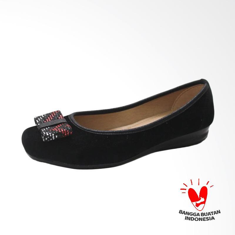 GRUTTY GR 82064 Sepatu Flat Wanita - Hitam