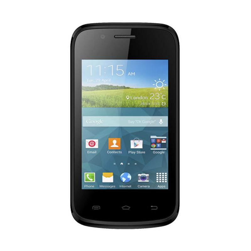 Evercoss A33E Smartphone - Grey Black [Android/ 512 MB]