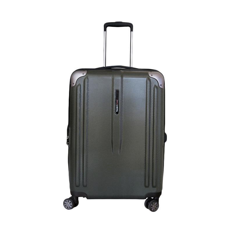 Traveler's Choice New London Hardcase Medium Koper - Olive Green [25 Inch]