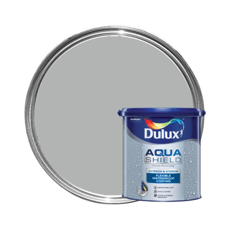 Dulux 40504 Aquashield Cat Pelapis Anti Bocor - Light Grey [4 kg]