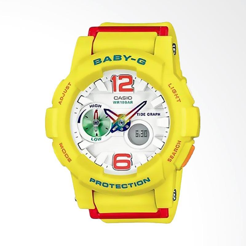 Casio Baby-G BGA-180-9BDR Jam Tangan Wanita - Kuning