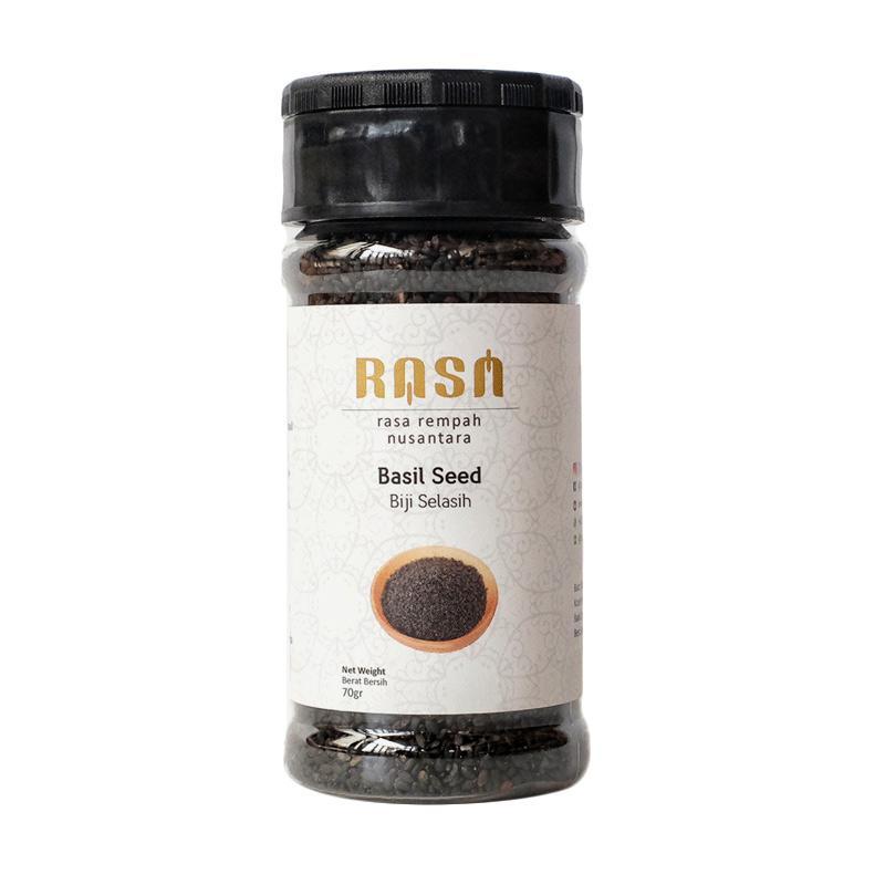 RASA Basil Seed Biji Selasih Bumbu Masak [70 g]