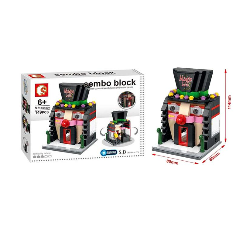 Sembo Sd6530 Magic Mainan Mini Blocks Mainan Anak