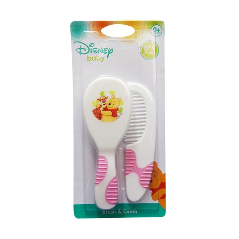 Disney Baby Winnie the Pooh Brush & Comb - Pink