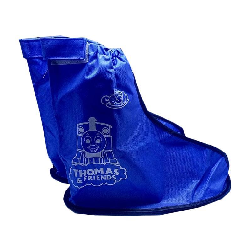harga Mom Thomas Jas Hujan Cover Sepatu Anak - Blue Blibli.com
