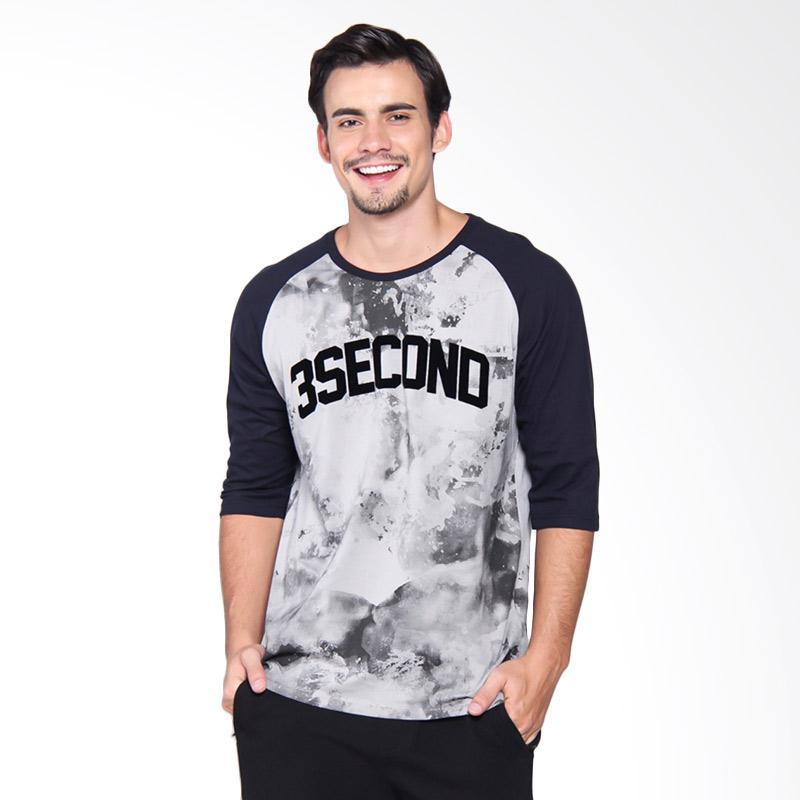 3Second Tshirt 2209 Kaos Pria - Blue 122091712