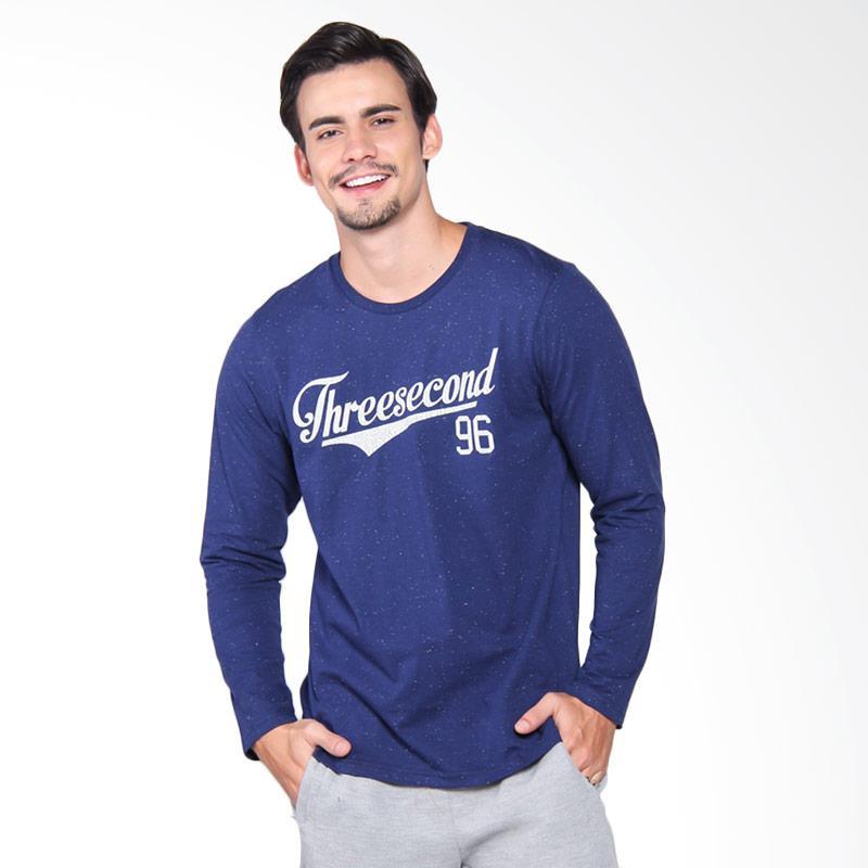 3Second Tshirt 3809 Kaos Pria - Blue 138091712