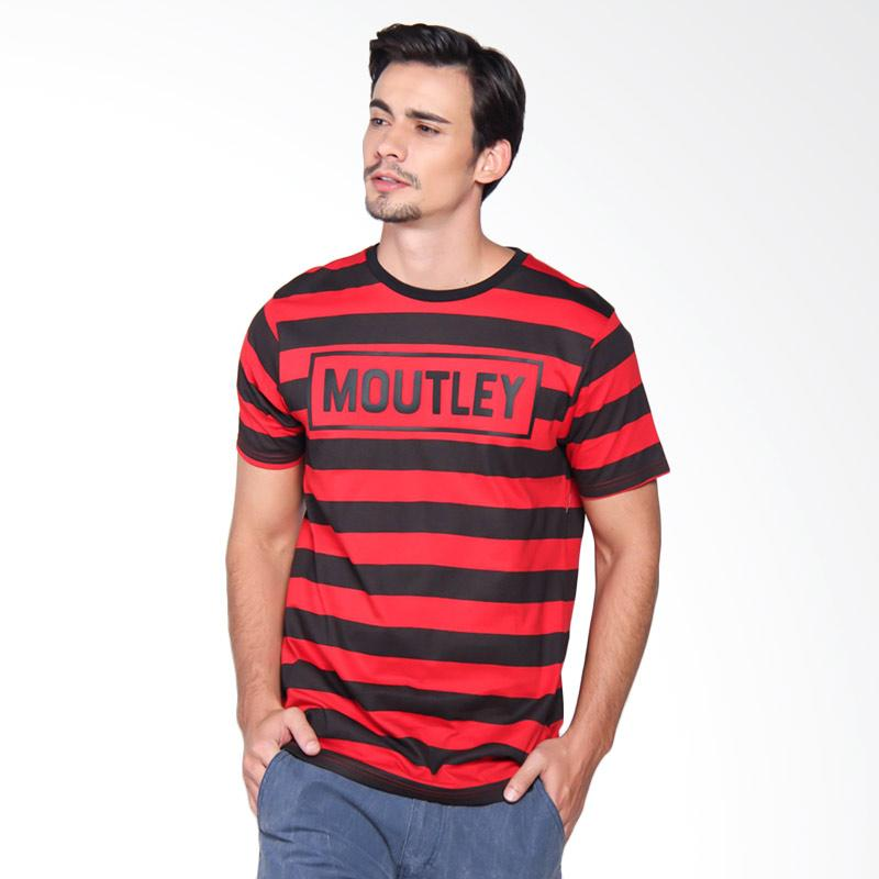 Moutley 1509 Tshirt Pria - Red 315091712