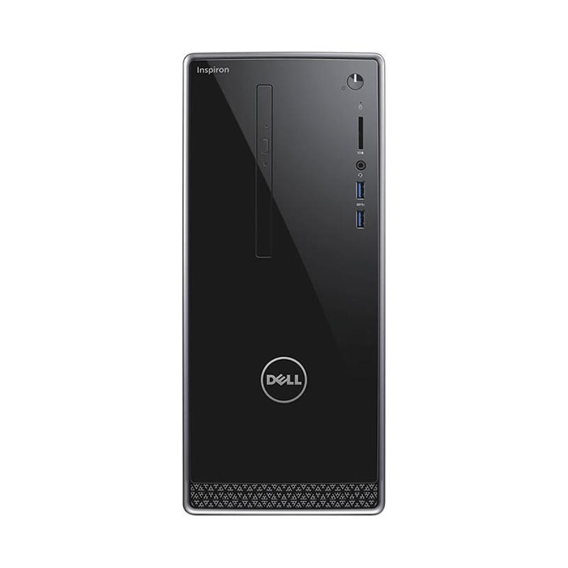 DELL Inspiron 3668 Desktop PC - Hitam [Ci7-7700/ 16GB/ 1TB + 128GB/ nVidia 2GB/ Ubuntu]
