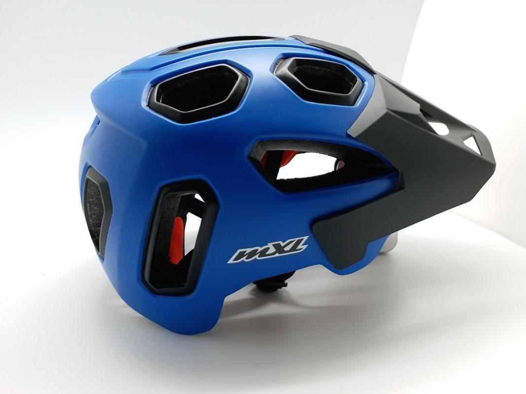 Mexel EN 588 Helm Sepeda - Blue Black
