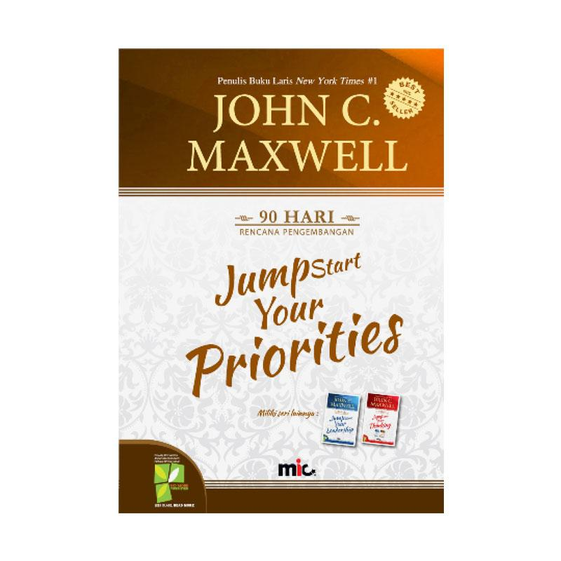 MIC Publishing Jumpstart Your Priorities by John C. Maxwell Buku Manajemen & Kepemimpinan