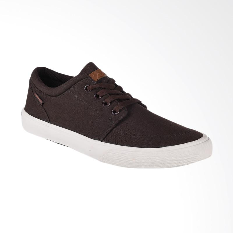Airwalk Jair Sepatu Pria - Dark Brown AIW17CV0241S