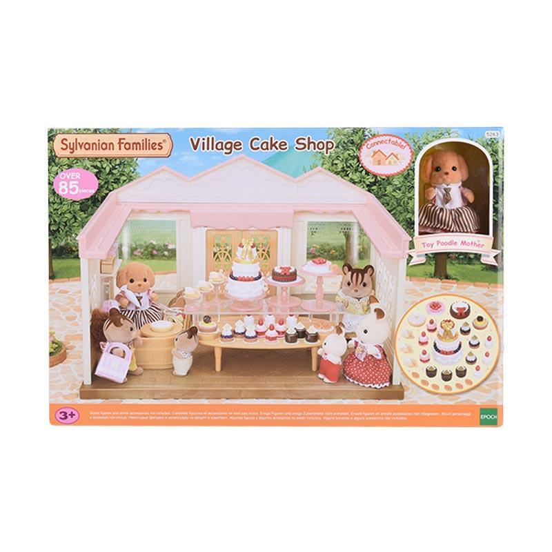 Sylvanian Families Village Cake Shop Set Mainan Anak