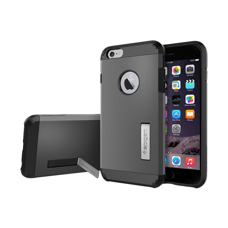Spigen Tough Armor Casing for iPhone 6 Plus 5.5 Inch - Smooth Black
