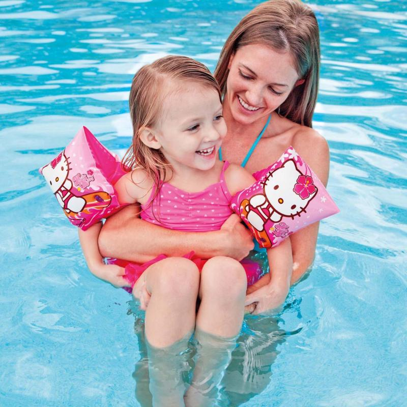 Chanel7 Swim Arm Bands Hello Kitty Pelampung Lengan Anak - Intex