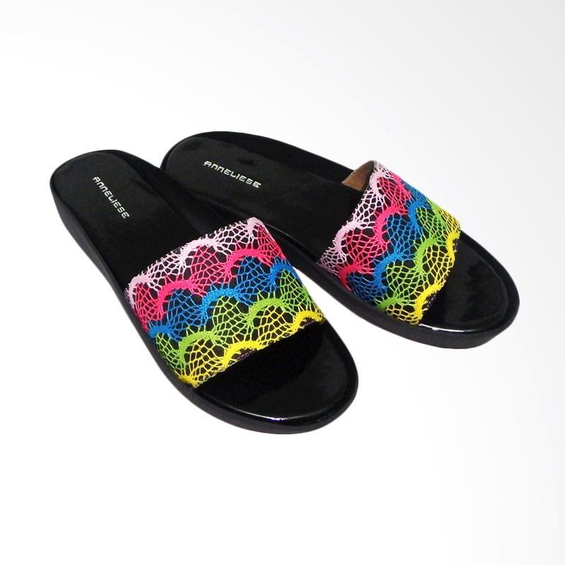 Anneliese Rainbow 1 Sandal Wedges Wanita
