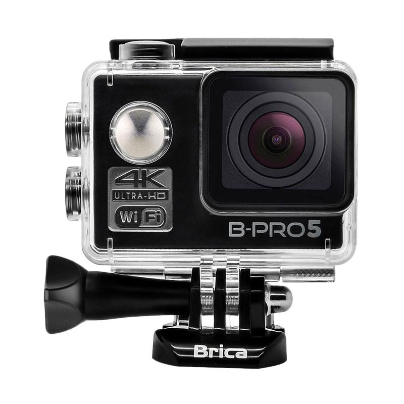 Brica B-PRO 5 Alpha Edition Mark II AE2 Combo Awesome Paket Action Camera - Hitam