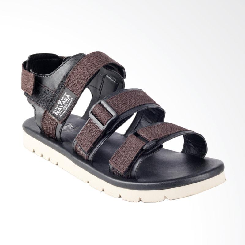 Navara Xavier Sepatu Sandal - Brown