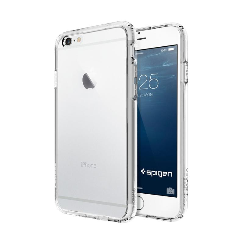 Spigen Ultra Hybrid Casing for iPhone 6S or iPhone 6 - Crystal Clear