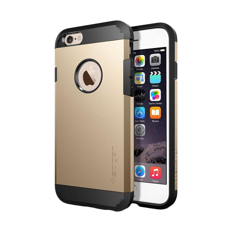 Spigen Tough Armor Casing for iPhone 6 4.7 Inch - Champagne Gold