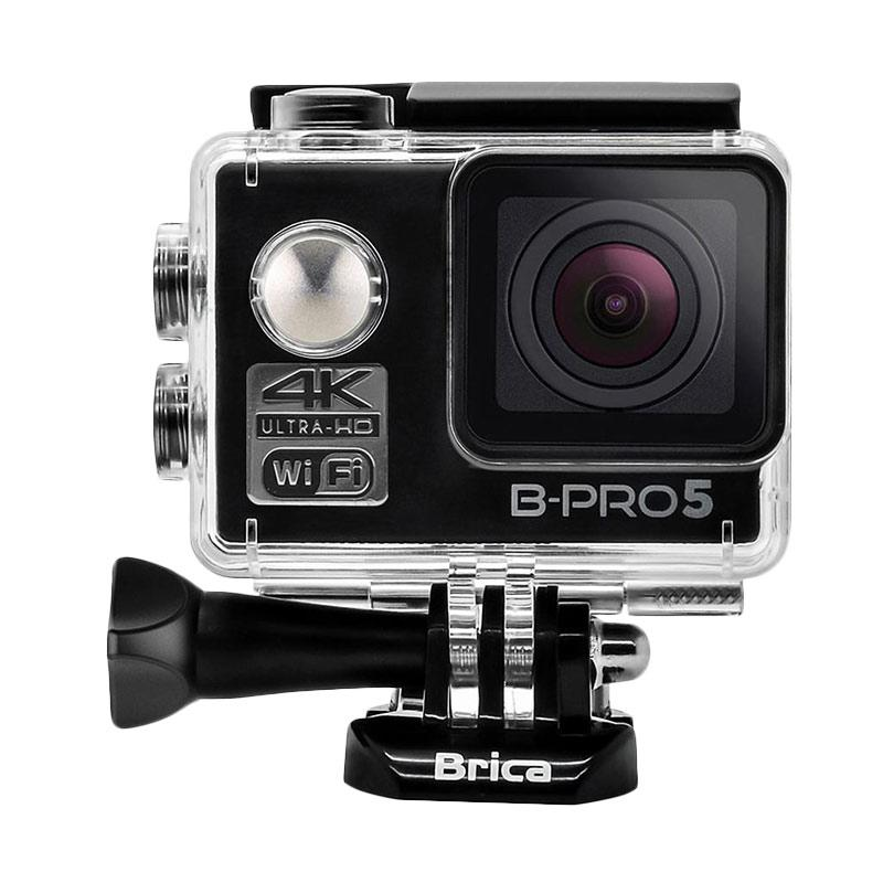BRICA B-PRO 5 Alpha Edition Mark II AE2 Combo 3 Way Supreme Action Camera - Hitam