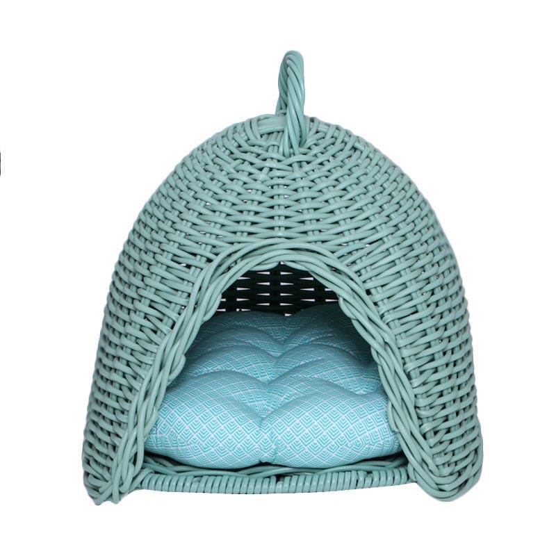 harga kandang, tempat tidur anjing/kucing, keranjang, kurungan Mylo Sphinx Pet Supplies - Mint new Blibli.com