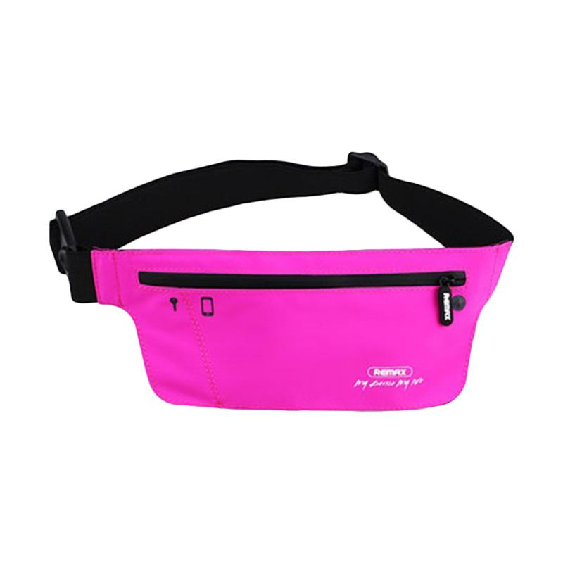 Remax Original Sport Waist Bag - Pink YD-03